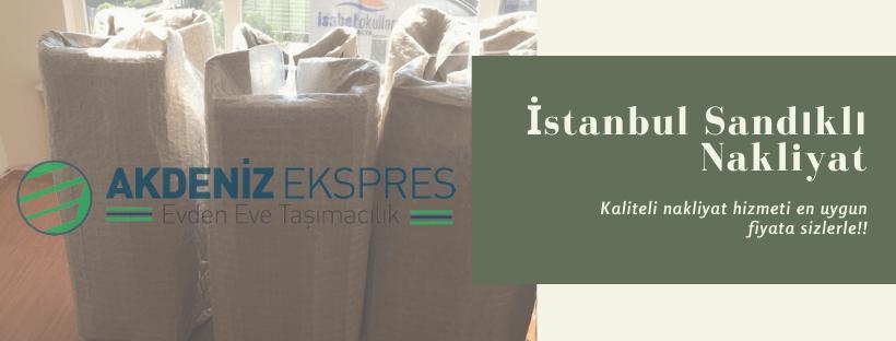 İstanbul Sandıklı ev taşıma