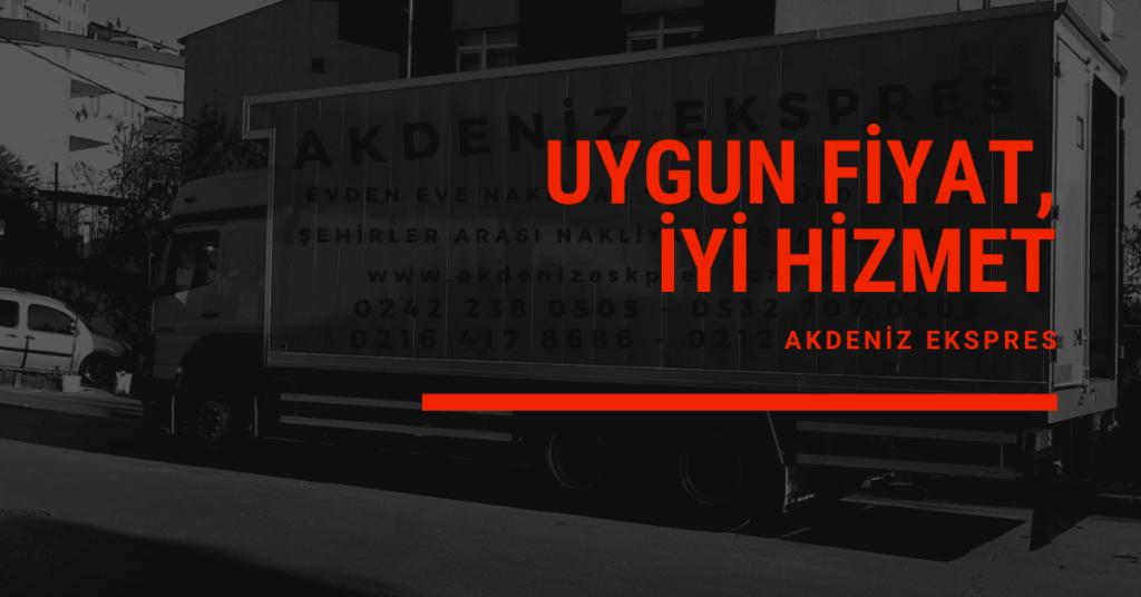 İstanbul Dikili evden eve nakliyat
