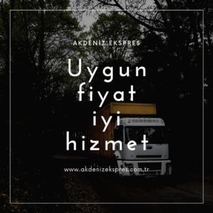 İstanbul Gaziemir parça eşya taşıma
