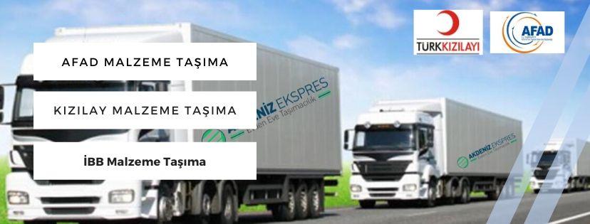 Yardım malzeme taşımacılığı