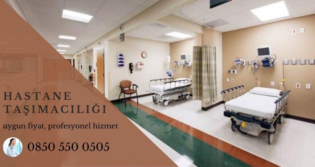 İstanbul hastane taşımacılığı