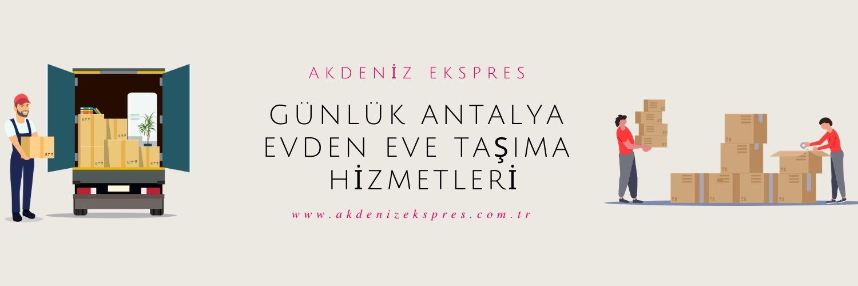 Günlük Antalya nakliyat firmaları