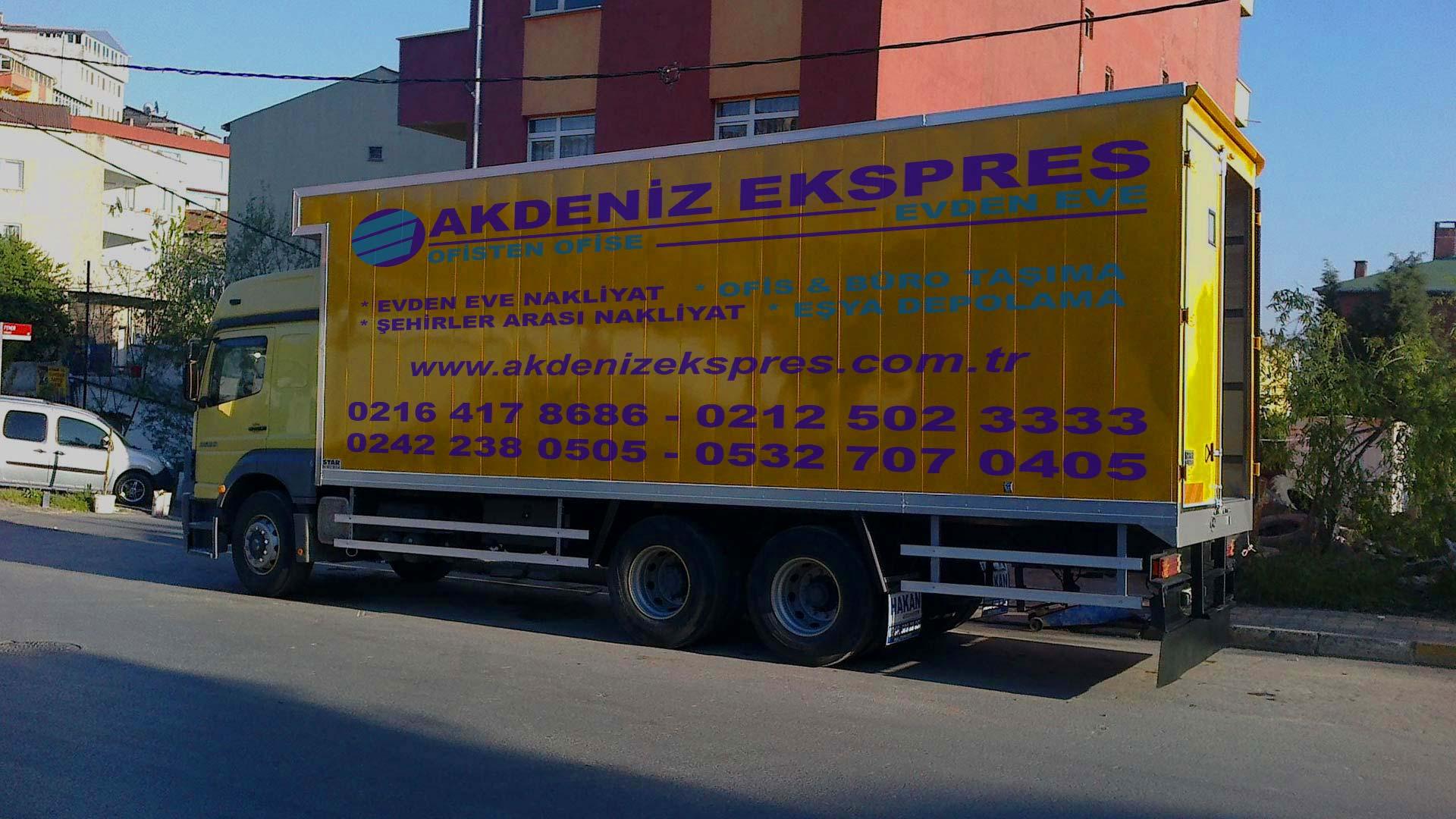 İstanbul Urla evden eve taşımacılık